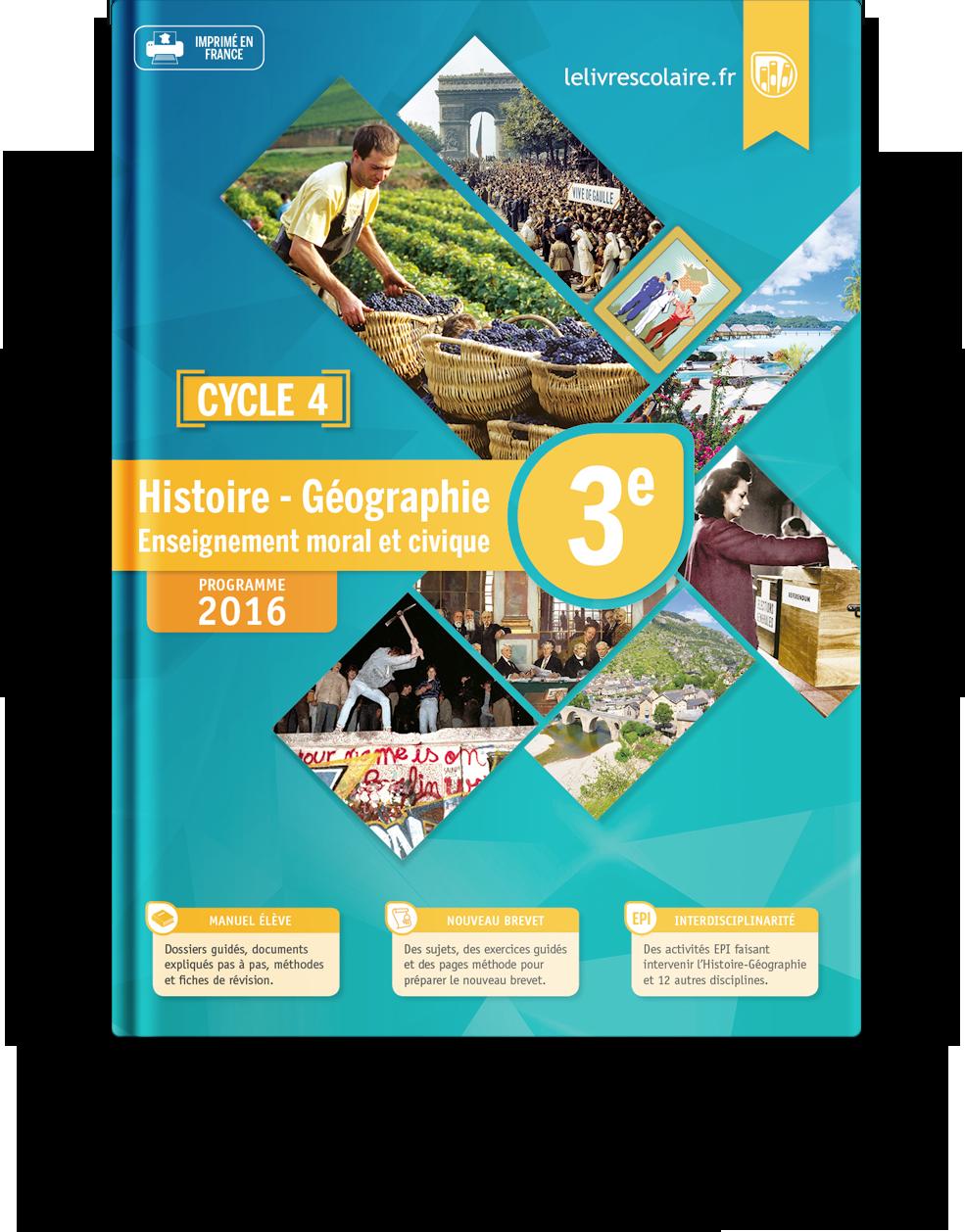 Histoire Geographie College Lelivrescolaire Fr