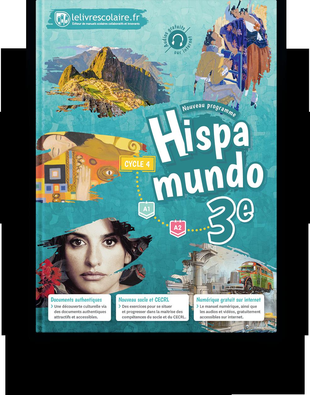 Couverture livre Espagnol 3e 2017
