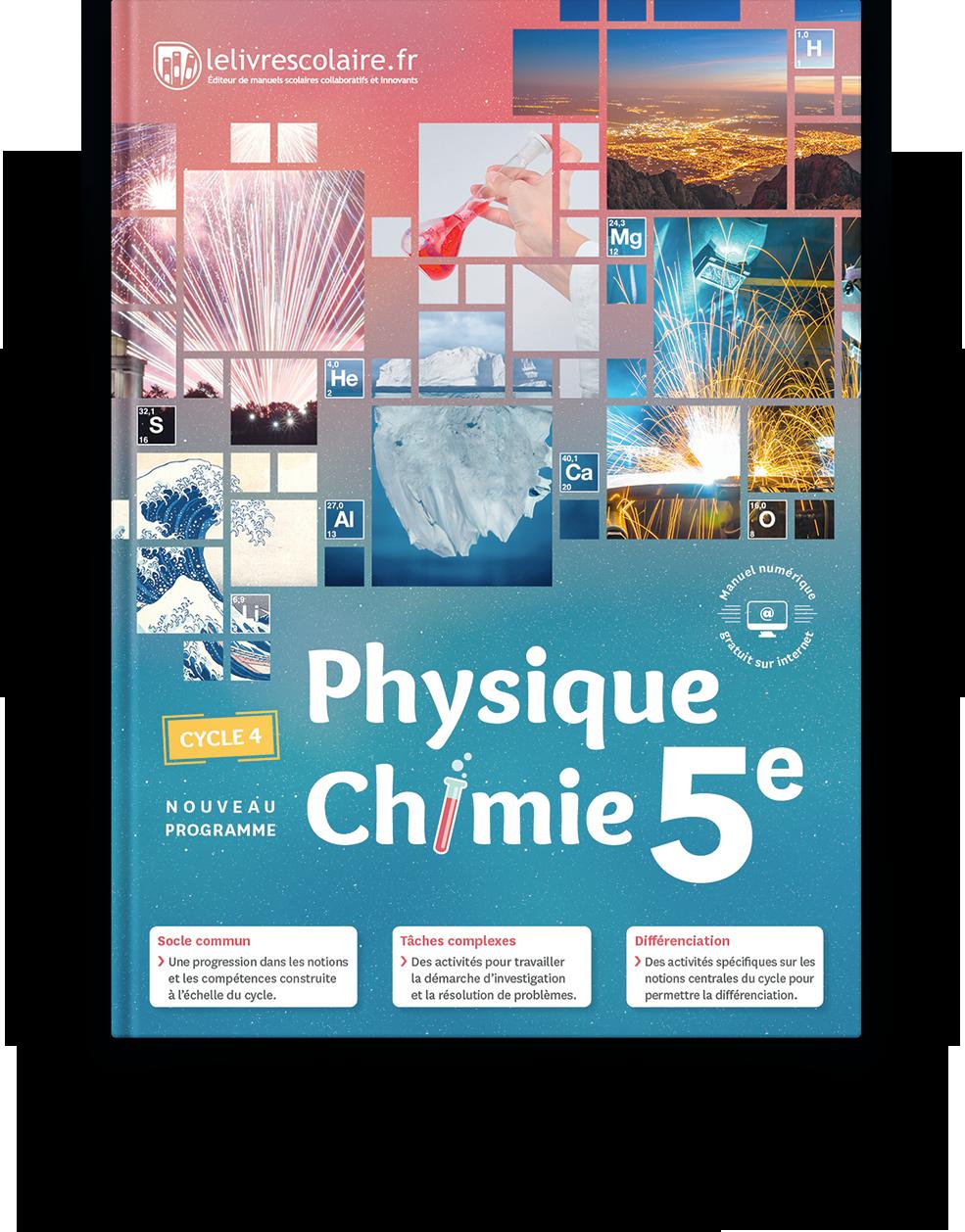 Physique Chimie College Lelivrescolaire Fr