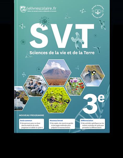 Couverture livre SVT 3e
