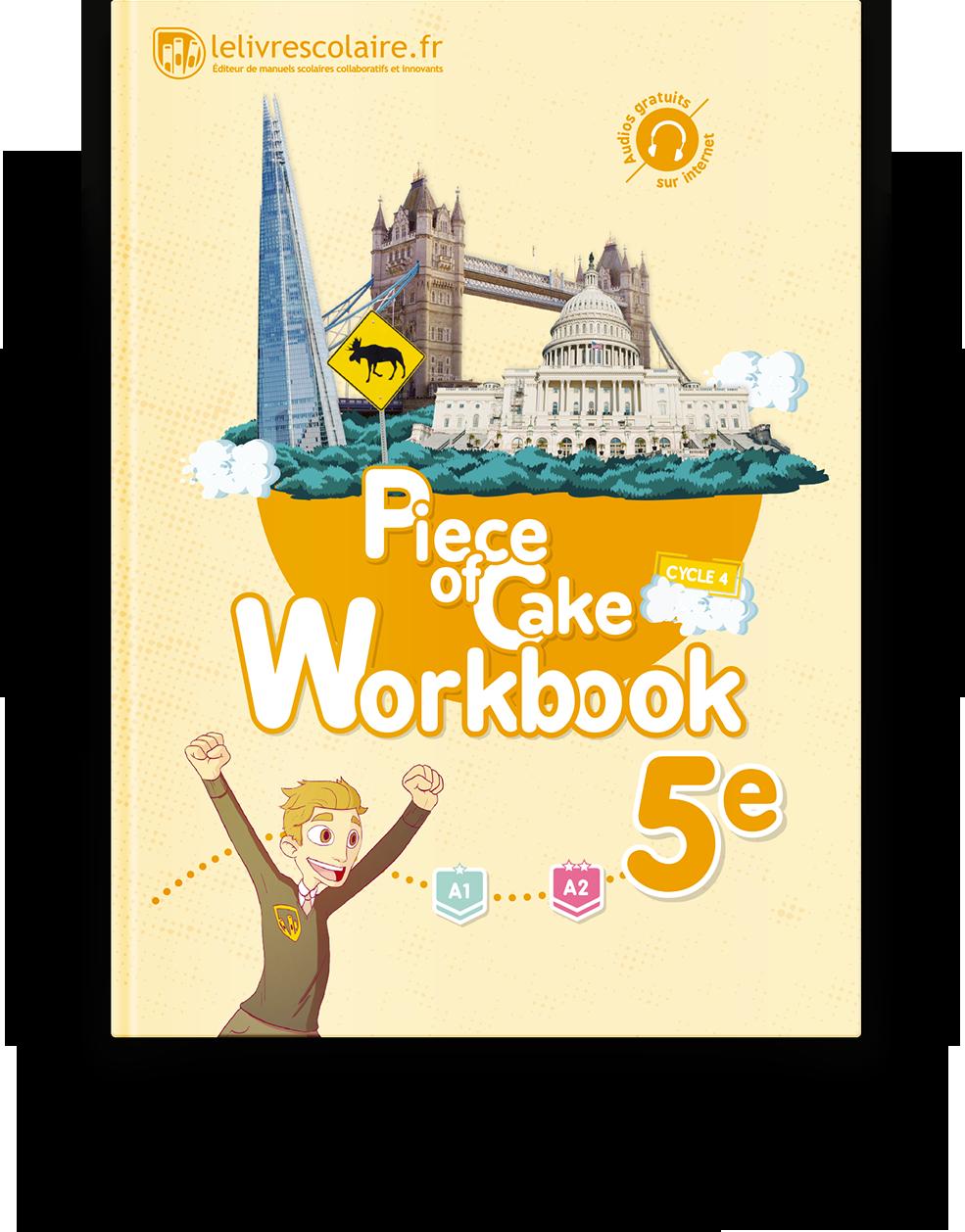 Couverture livre Cahier d'activités - Anglais 5e