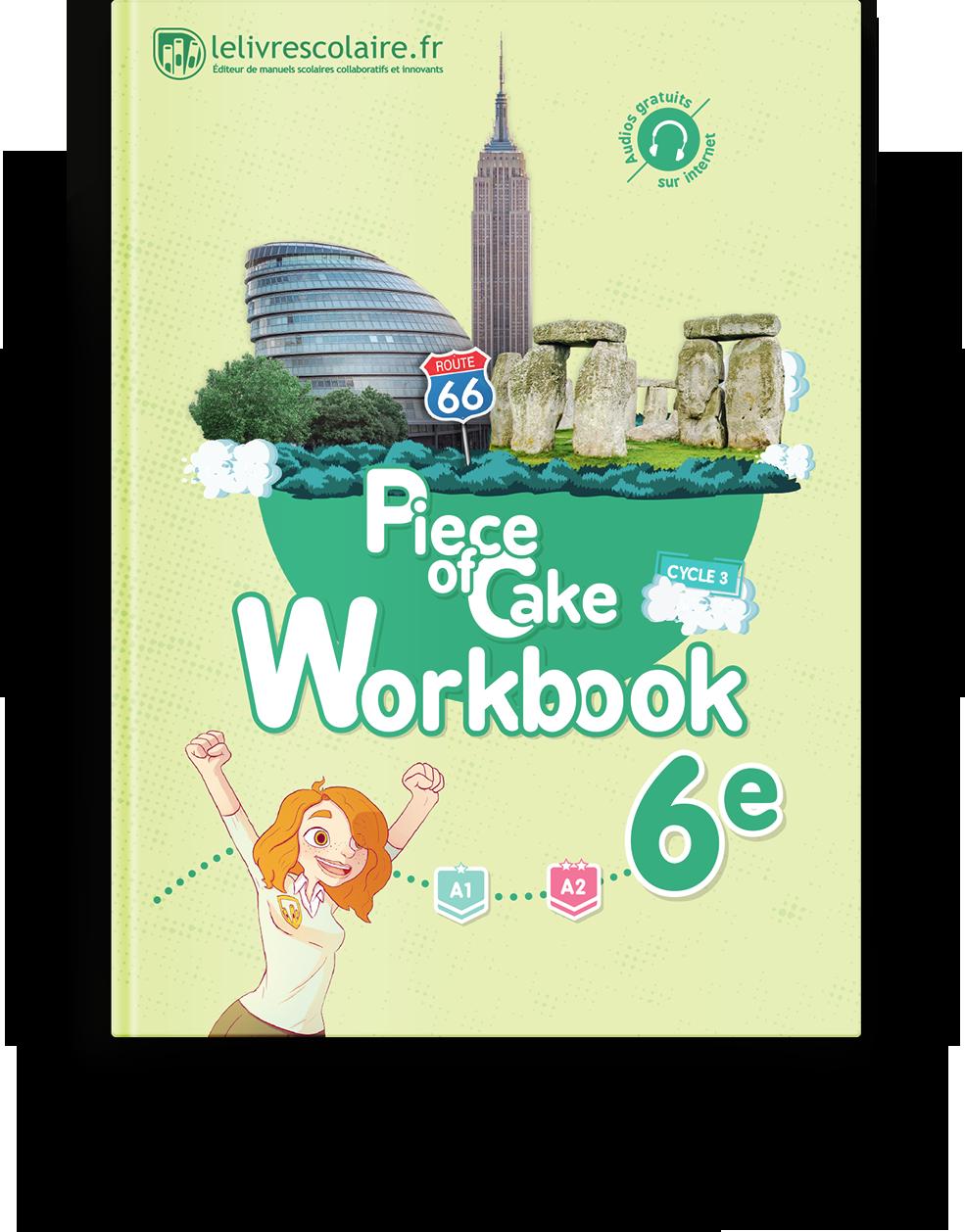 Couverture livre Cahier d'activités - Anglais 6e