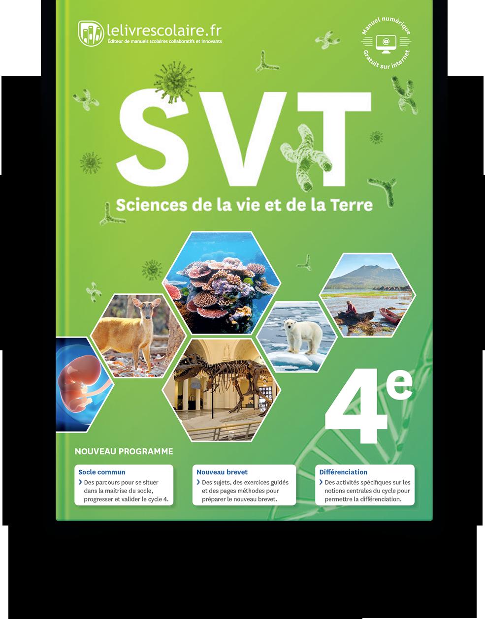 Sciences De La Vie Et De La Terre College Lelivrescolaire Fr