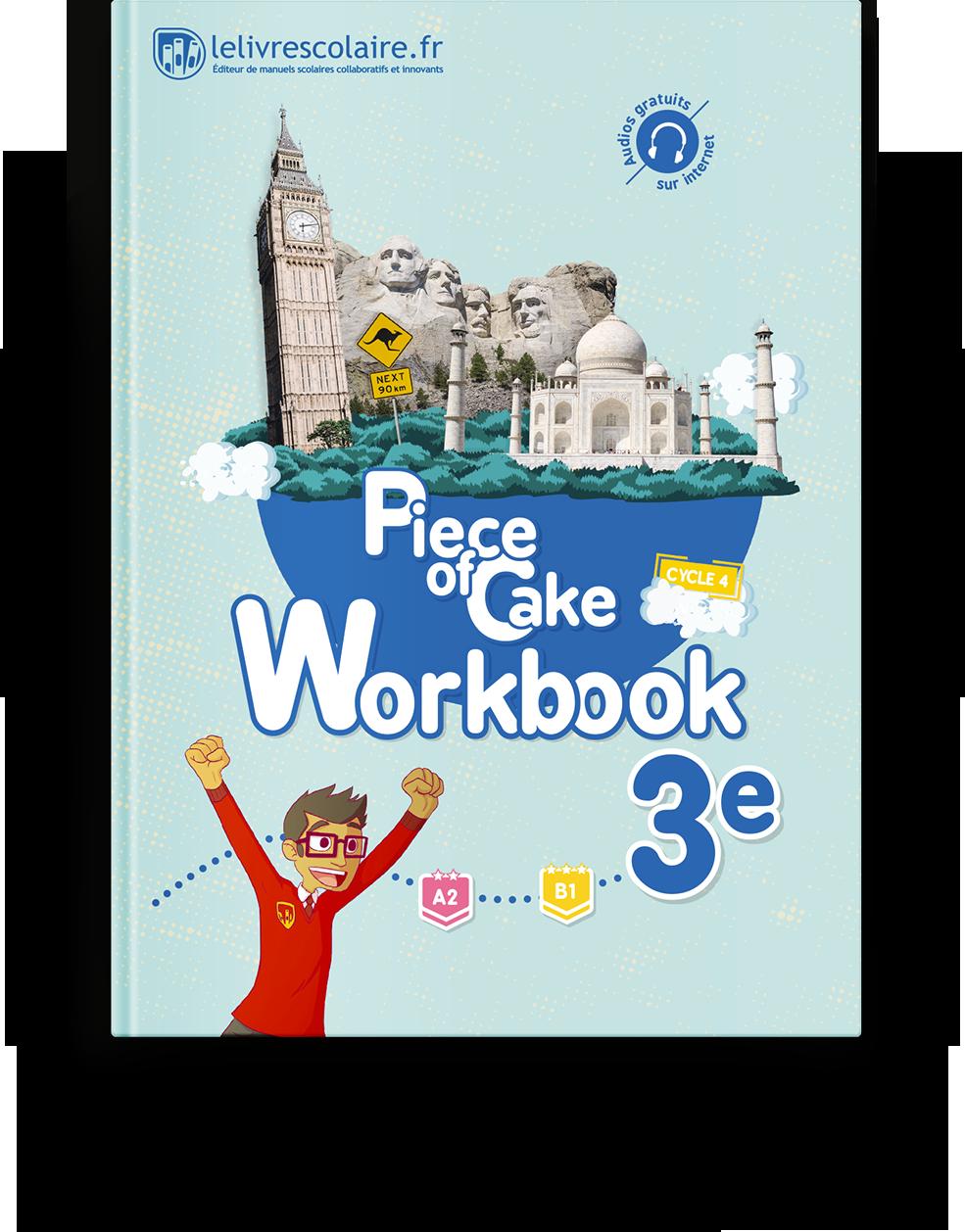 Couverture livre Cahier d'activités - Anglais 3e